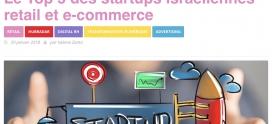 Hub Institute – Le Top 5 des startups israéliennes retail et e-commerce