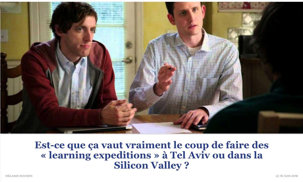Est-ce que ça vaut vraiment le coup de faire des « learning expeditions » à Tel Aviv ou dans la Silicon Valley ?