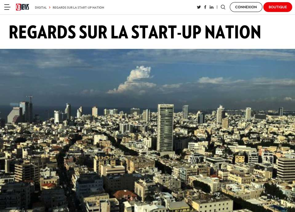 CBNEWS – Regards sur la Start-up Nation